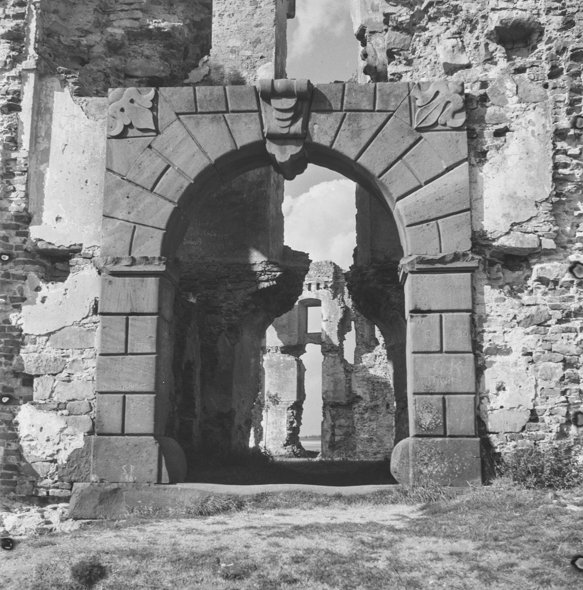 Portal w zamku