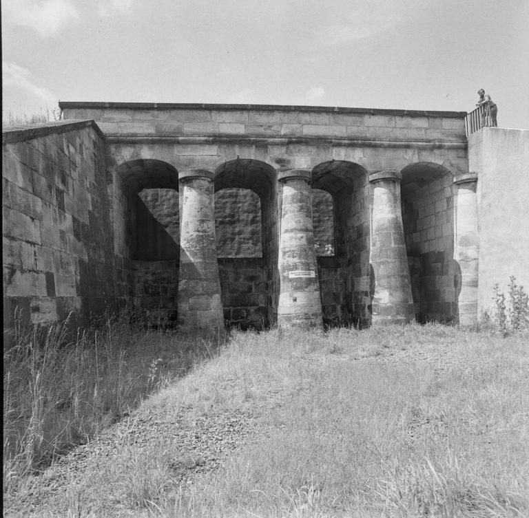Zapora z czasów Staszica