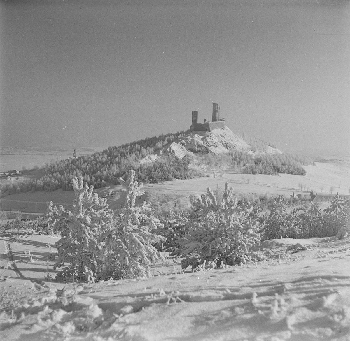 Zamek w zimie