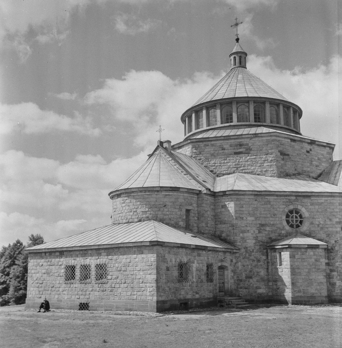 Kościół fragmenty od strony wchodniej