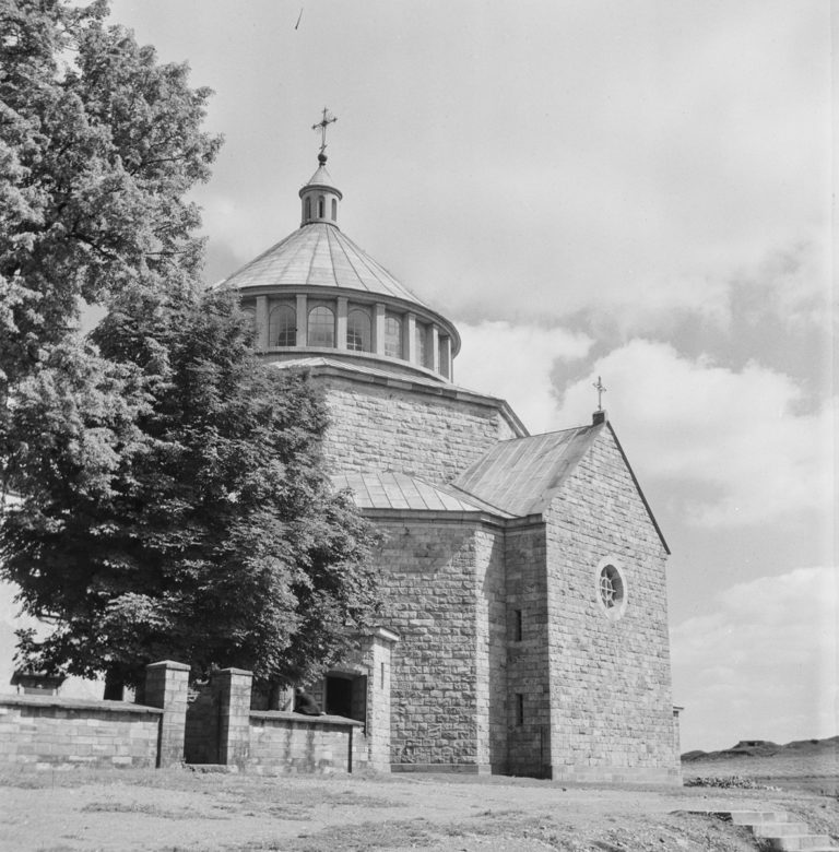 Church View from the south on the main part