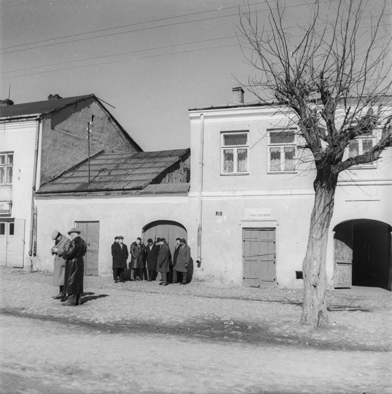 Rynek – małe miasteczko