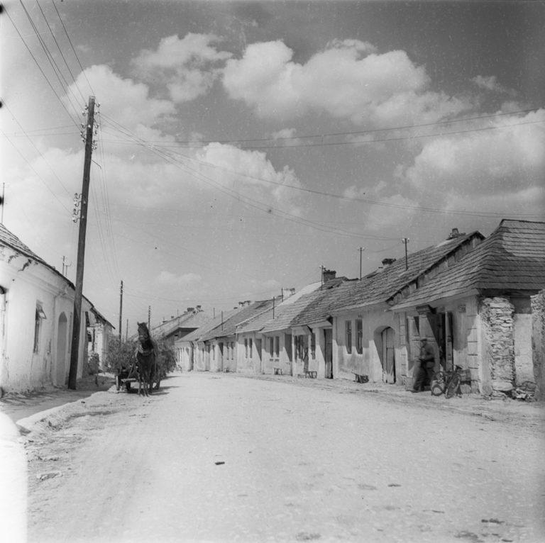 Stare domy przed pożarem