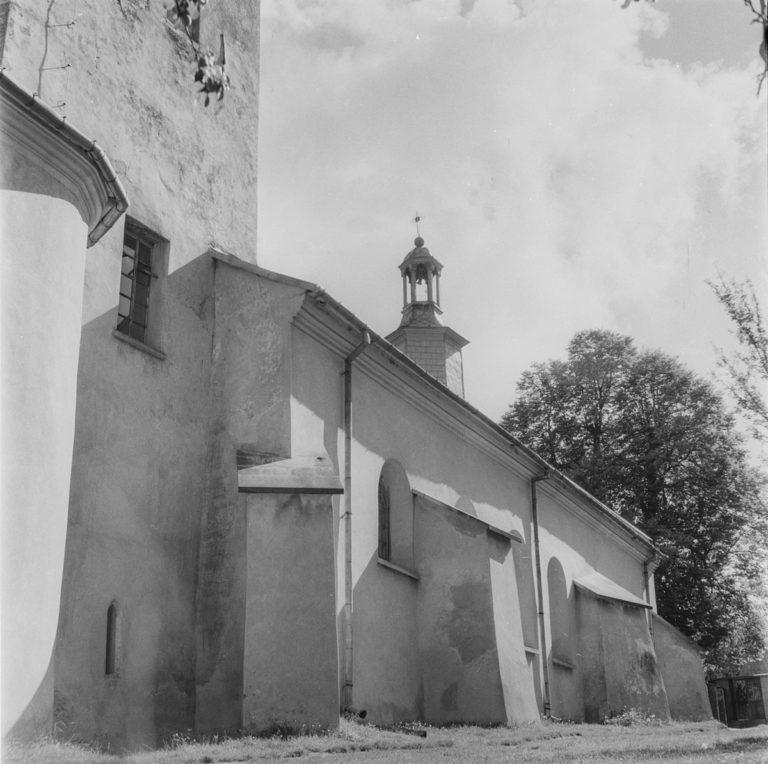 Klasztor – fragment murów