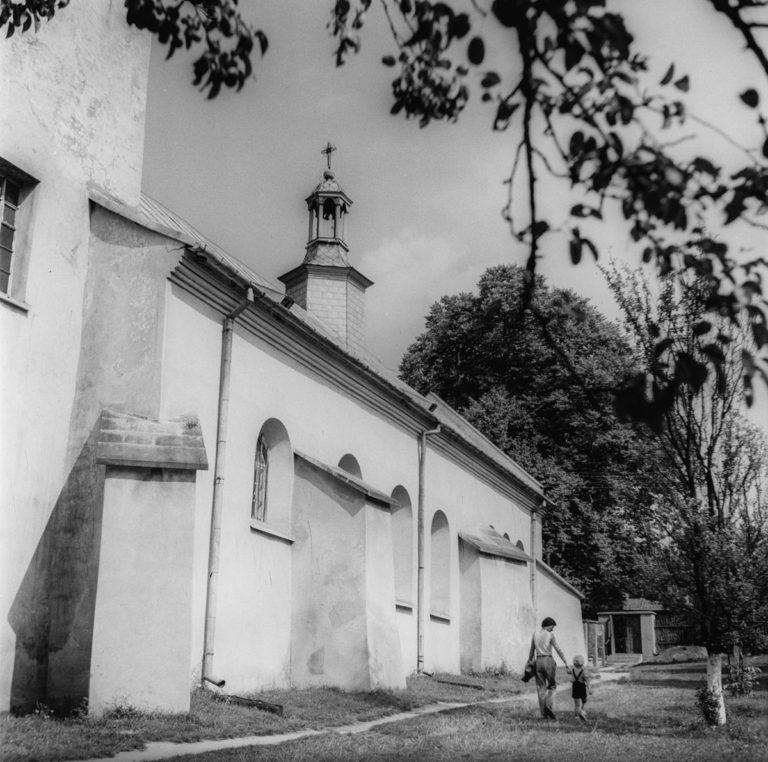 Fragment murów klasztoru