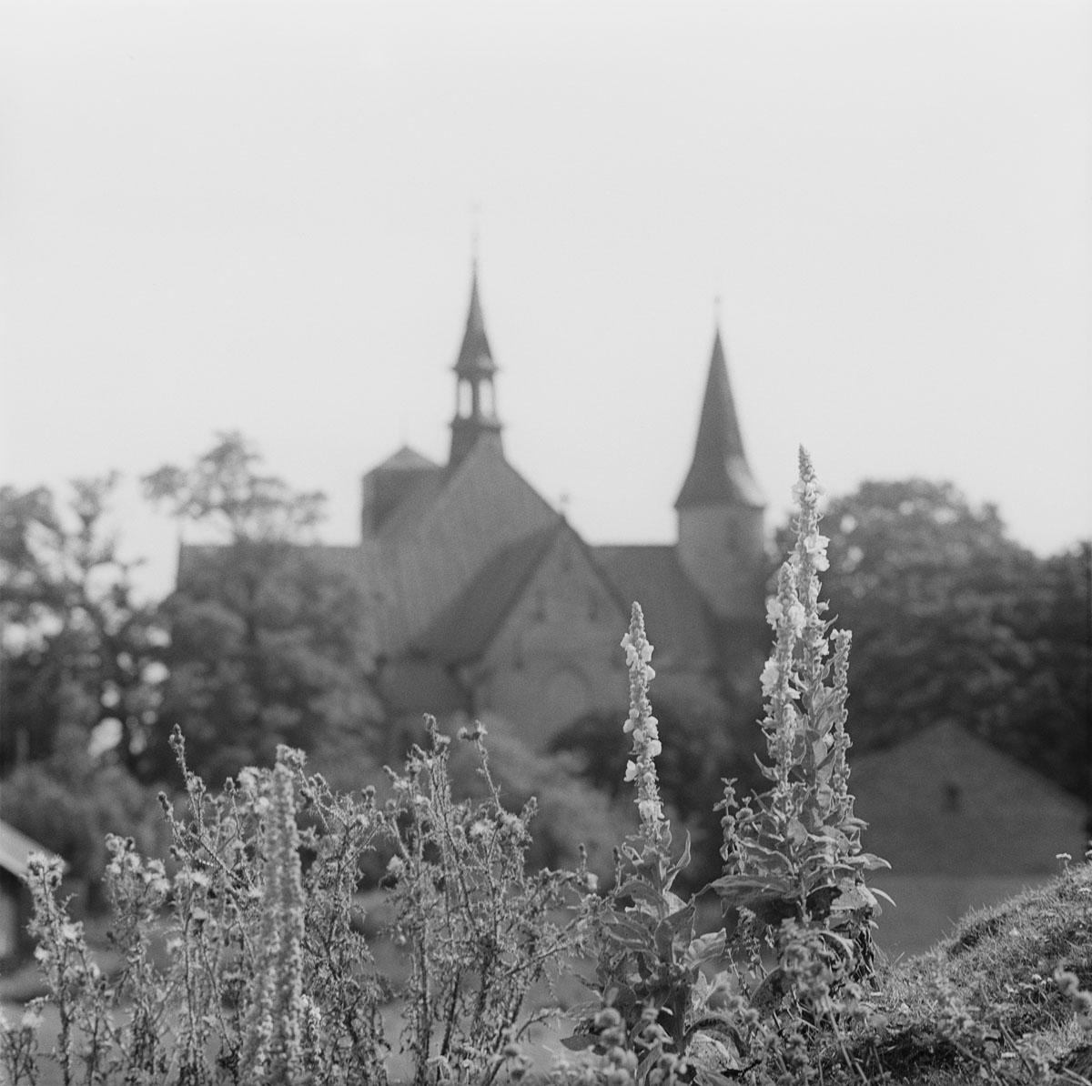 Kościół i grodzisko