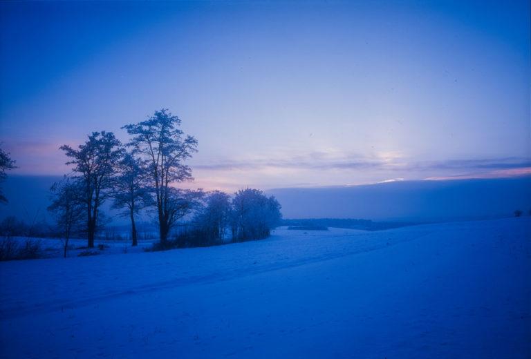 Góra zamkowa zima