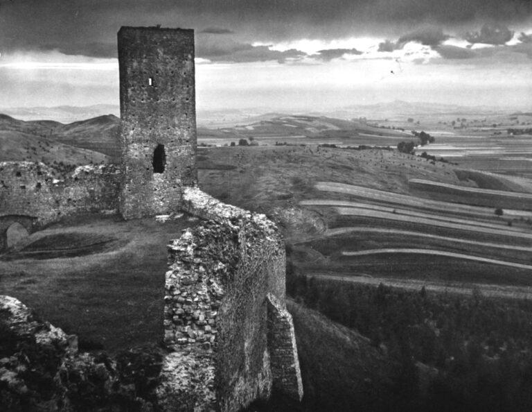 Widok z chęcińskiego zamku