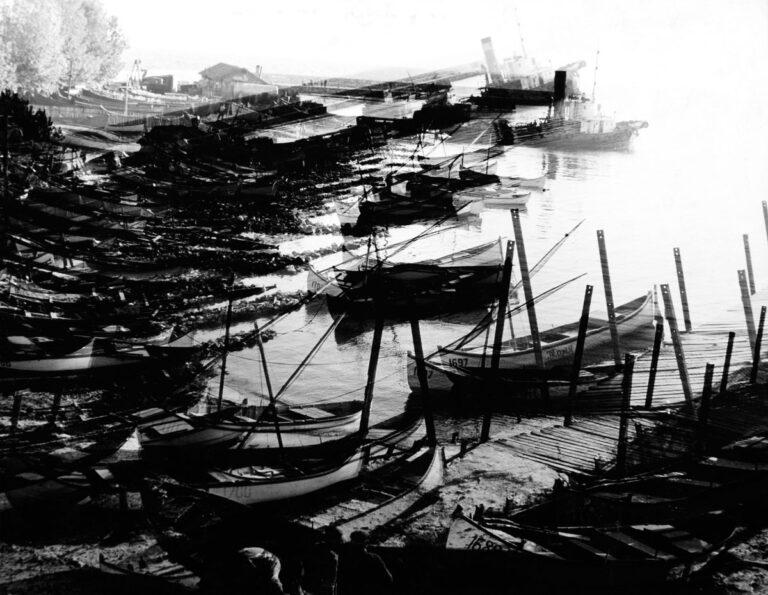 Bułgaria. Port rybacki w Neseber