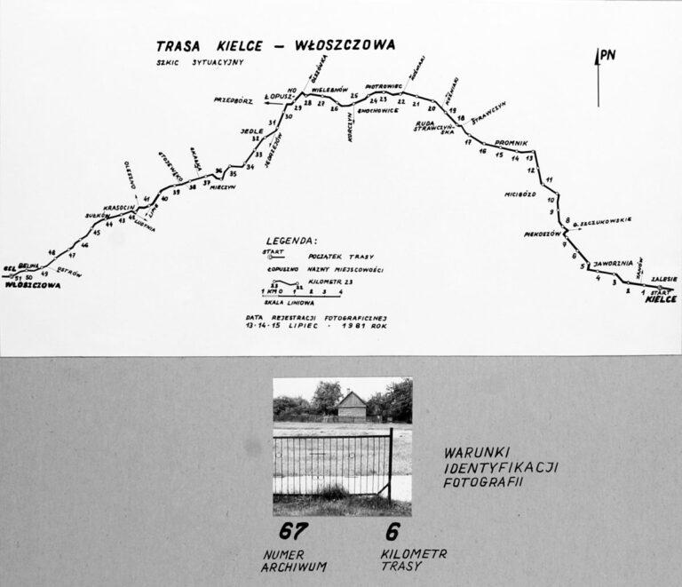 Solo Exhibition of Documentary Photography KIELCE-WŁOSZCZOWA 1981