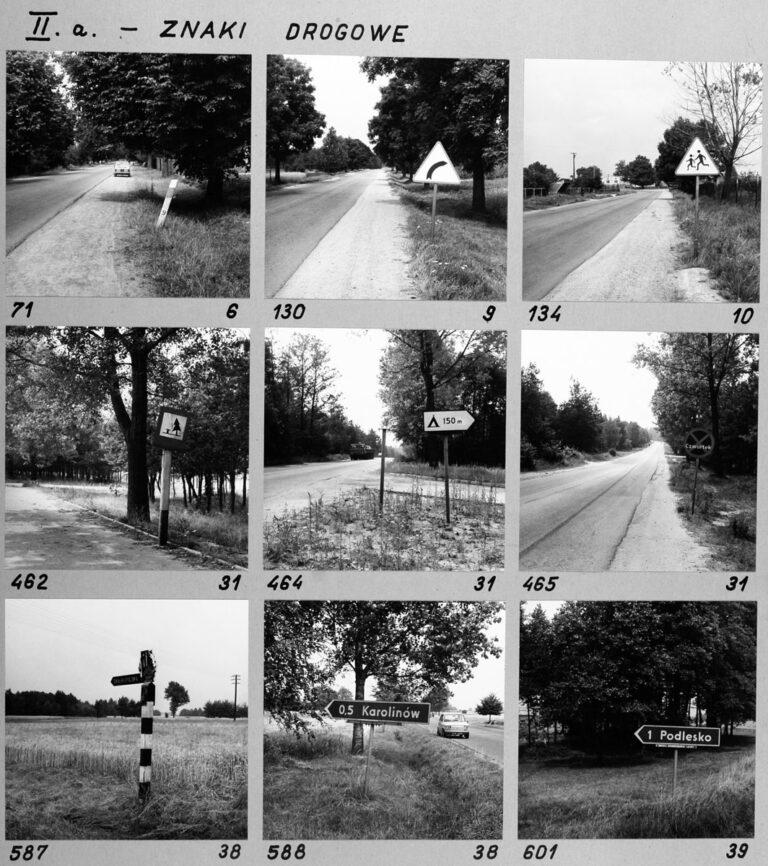 II a. – Znaki drogowe
