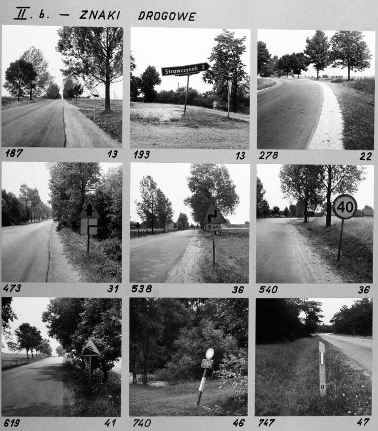 II b. – Znaki drogowe