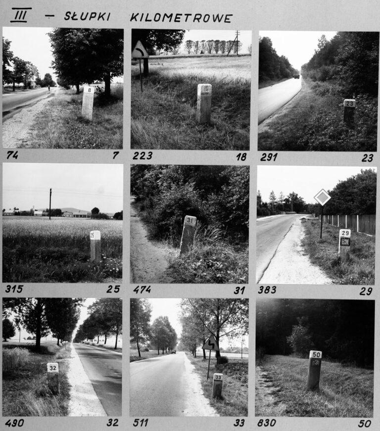 III – Słupki kilometrowe