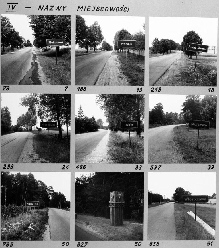 IV – Nazwy miejscowości