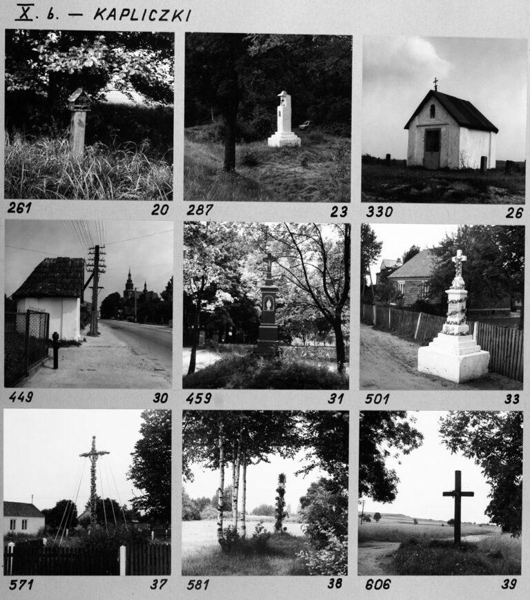X b. – Kapliczki
